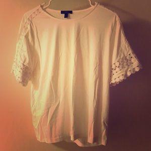 White Shirt, JCREW size M